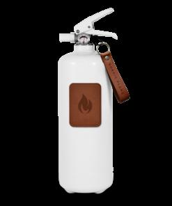 weisser Feuerlöscher von Nordic Flame