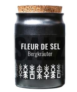 Fleur de sel mit Bergkräuter von Greenomic