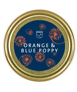 Senf Orange Blue Poppy von der Essendorfer Genussschmelzerei