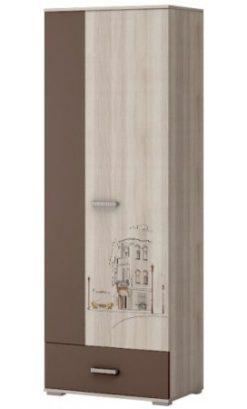 Шкаф 2-х дв. (фотопечать) Шк91 Лимбо-1 1