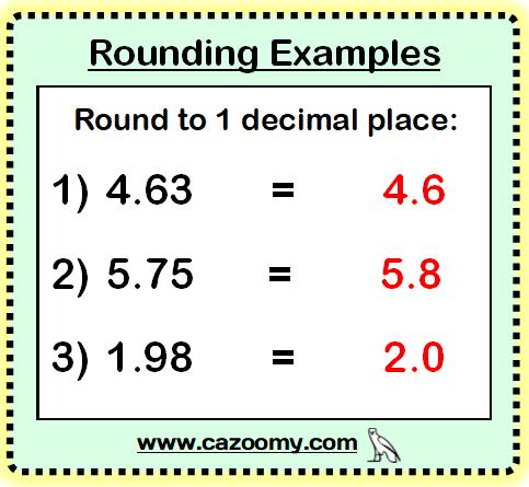 Rounding Example 2