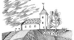 Vasaras ilustrācijas no RYE field