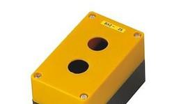 BX2 – Kaseta żółta pusta z 2 otworami 22mm