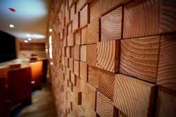 Деревянная отделка в квартире