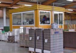 CHV 300 DA Modulares Raumsystem Doppelanlage Büroexweiterung LGV