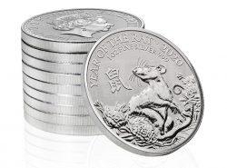 Silbermünze, Lunar, Ratte