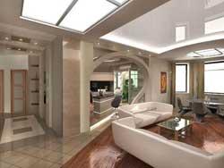Сложная отделка двухкомнатной квартиры