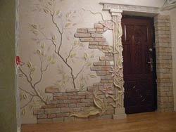 Необычный дизайн стен фото