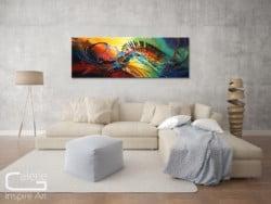 """abstrakter Expressionismus """"Lichtblick"""" Unikatgemälde"""