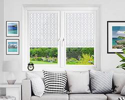 Рулонные шторы, устанавливаемые на створку стеклопакетов