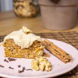 easy peasy Whole food carrot cake