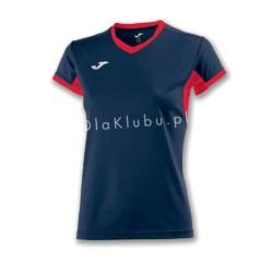 Koszulka sportowa damska JOMA Champion IV granatowo czerwona