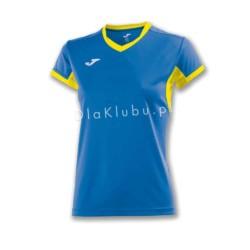 Koszulka sportowa damska JOMA Champion IV niebiesko żółta