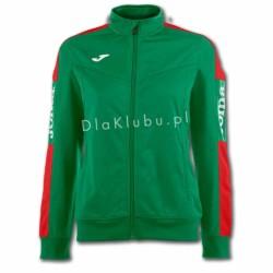 Bluza dresowa damska JOMA Champion IV zielono czerwona