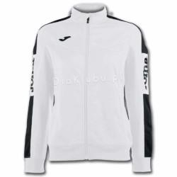 Bluza dresowa damska JOMA Champion IV biało czarna