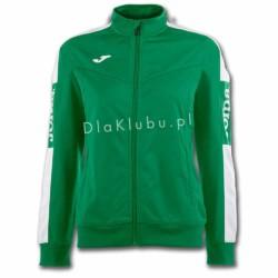 Bluza dresowa damska JOMA Champion IV zielono biała