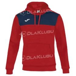 Bluza sportowa z kapturem JOMA Winner czerwona