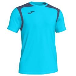 Koszulka piłkarska Champion V turkusowo niebieska