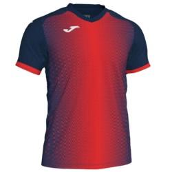 Koszulka piłkarska JOMA Supernova granatowo czerwona