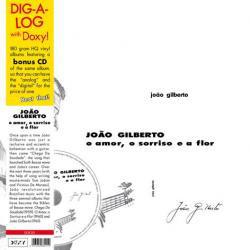 João Gilberto - O Amor, O Sorriso E A Flor (LP + CD + Album, RE)