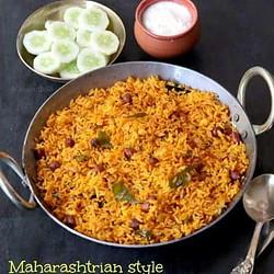 Phodnicha Bhat Recipe