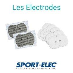 la gamme complète d'électrode de la marque sport-elec