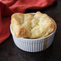 Chicken Pot Pie For One | One Dish Kitchen