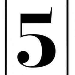 Pakiet pięciu printów