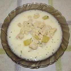 Karfiolová polievka