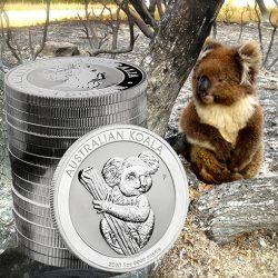 Silbermünze, Koala