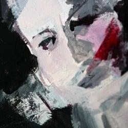 """Moderne Kunst """"Gesellschaft"""" von M. Plaickner"""