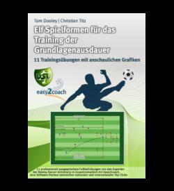 Ausdauer Fussballübungen für dein Fußballtraining - Elf Spielformen für Training der Grundlagenausdauer - Paket 08 - 1