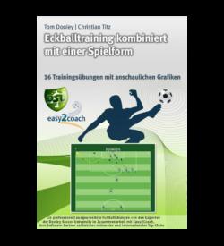 Eckballtraining Fussballübungen für dein Fußballtraining - Eckballtraining kombiniert mit einer Spielform - 1
