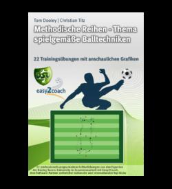 Spielgemäße Balltechniken Teil 2 Fussballübungen für dein Fußballtraining - Methodische Reihen - Thema spielgemäße Balltechniken Teil2