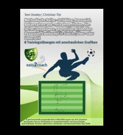Doppelpass Übungen Fußball Übungen für dein Fußballtraining - Dribbling, Passspiel, Ballannahme und -mitnahme, Finten, einfacher Doppelpass, gegnerüberwindendes Passspiel, Zweikampf in Gleick-/Über- oder Unterzahl