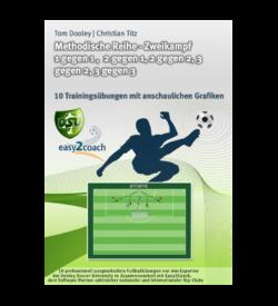 Zweikampf 1 gegen 1 Fußball Übungen für dein Fußballtraining - Methodische Reihe: Zweikampf 1 gegen 1, 2 gegen 1, 2 gegen 2, 3 gegen 2, 3 gegen 3