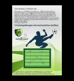 Hinterlaufen Fußball Übungen für dein Fußballtraining - Methodische Reihe: Passen, Ballannahme, Hinterlaufen, Finte als eine Übung, Passspiel über die Außen, Spielform mit Schwerpunkt Flügelspiel