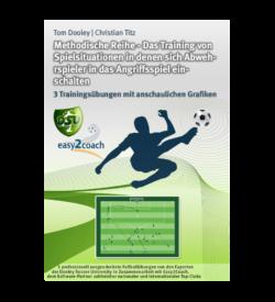 Fußball Übungen für dein Fußballtraining - Methodische Reihe: Das Training von Spielsituationen in denen sich Abwehrspieler in das Angriffsspiel einschalten
