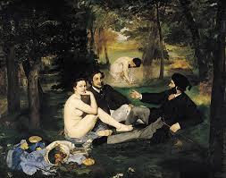 Édouard Manet, Dèjeuner sur l'herbe (1862-1863)
