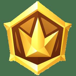 Médaille de survie en or