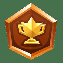 Trophée en bronze