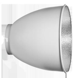 Riflettore alluminiato HP 26cm - 48° 1