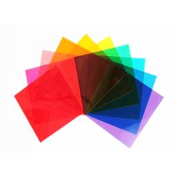 10 filtri colorati 120x 120mm 1
