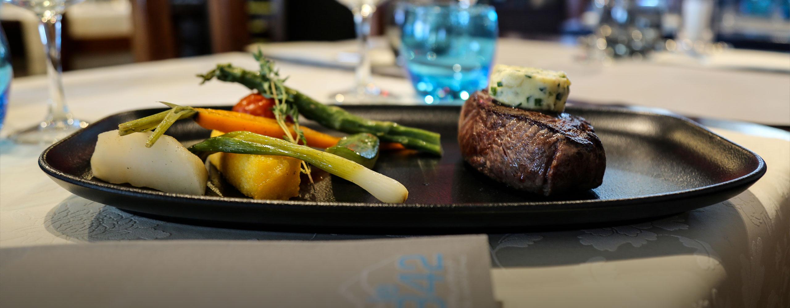 Restaurant Le 3842 en hiver