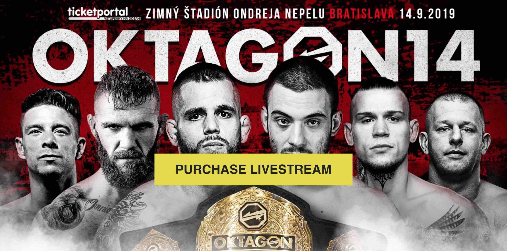 V Bratislavě se uskuteční galavečer Oktagon 14. Budete zítra online?