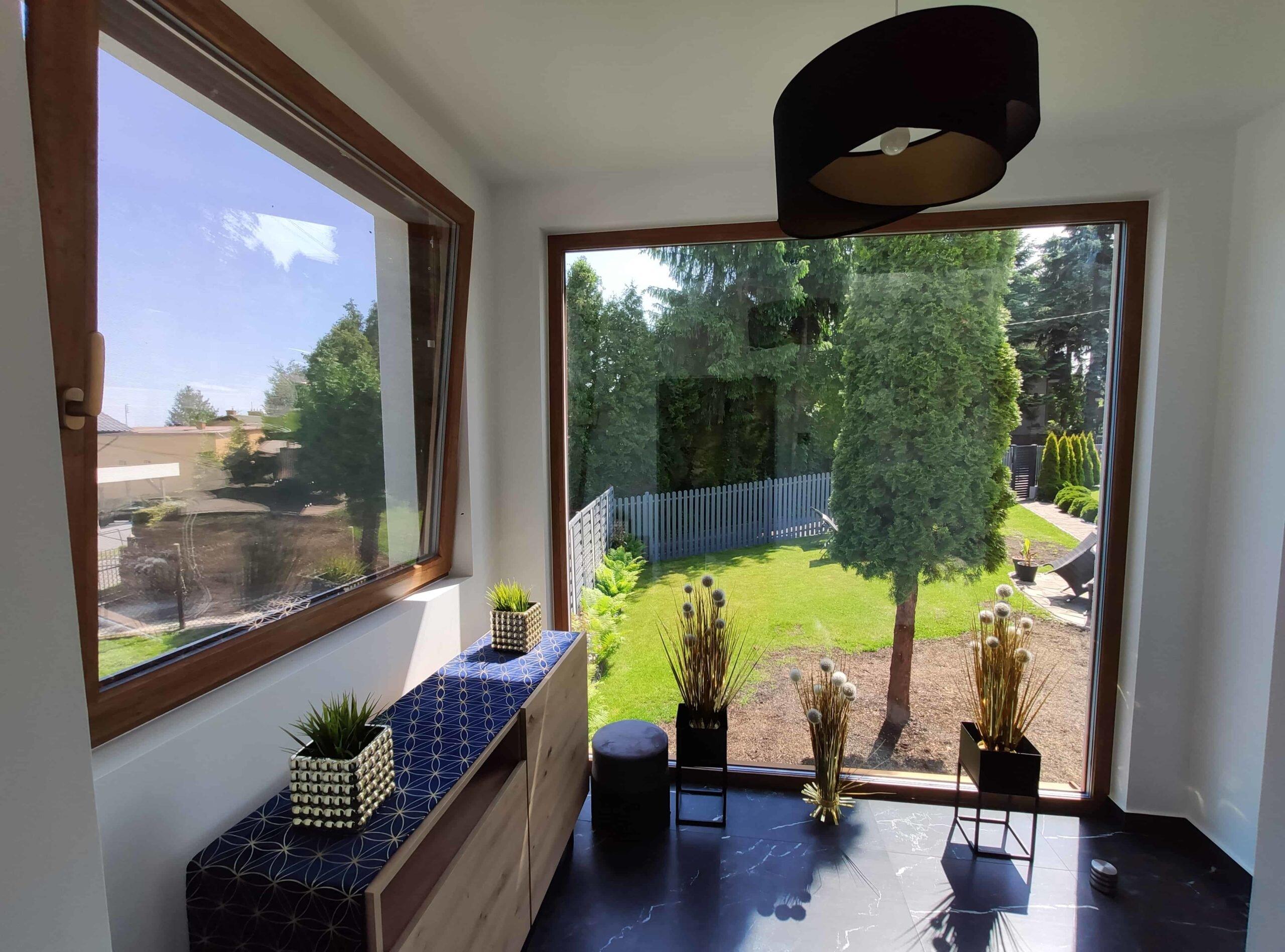 Okna Prismatic kolor winchester