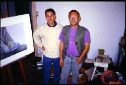 Bob Landstrom and Jean-Marie Brouyere Brussels Belgium 1994