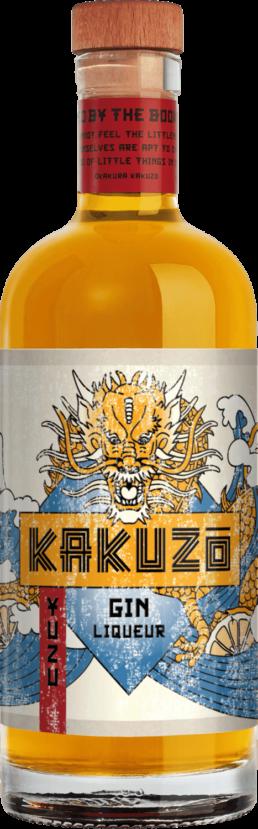 Yuzu Gin Liqueur Flasche