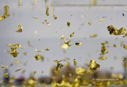 Gold, Fluss, Flocken (Bild: Goldreporter)