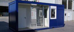 Security-Container für den Bau